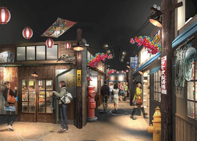 函馆站前小巷